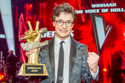 Fotoverslag: Dennis wint The Voice of Holland 2019