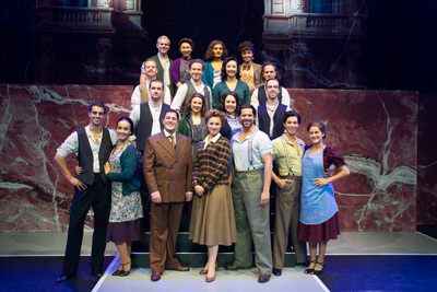 Sneak-preview Evita de musical
